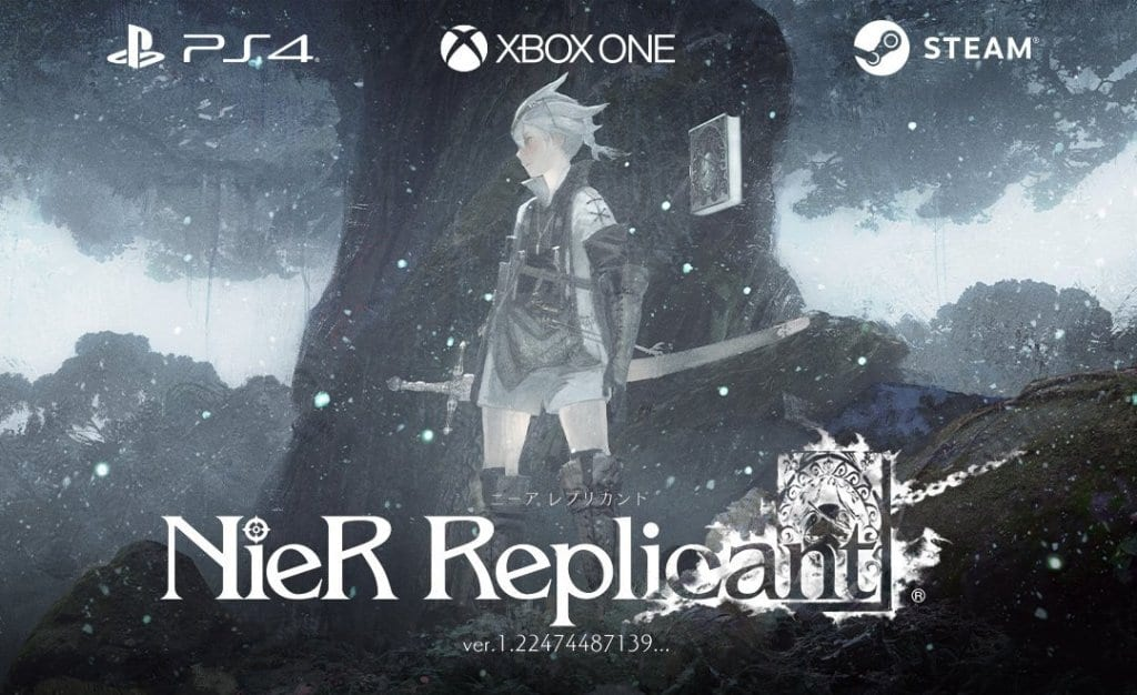 The Latest Nier Replicant will be on PS4, Xbox X and Steam
