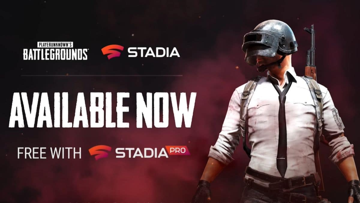 Google's Stadia Connect Included PUBG & EA Titles