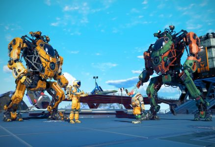No Man's Sky Upgraded with Giant Exo Mech Suits