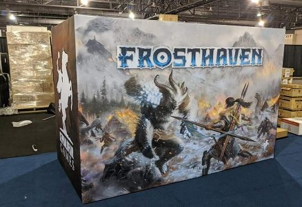 Gloomhaven sequel Frosthaven Raised $5 Million in First Day